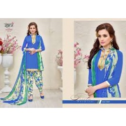 Rani prints sunheri patiyala dress material