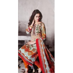 Cotton Salwar Suit Dupatta Materials