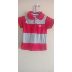 Boys Printed Cotton Blend T Shirt