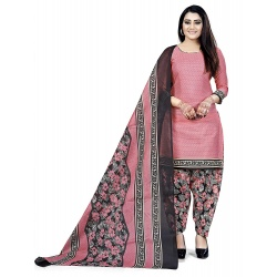 Rajnandini Womens Cotton Printed Unstitched Salwar Suit Material